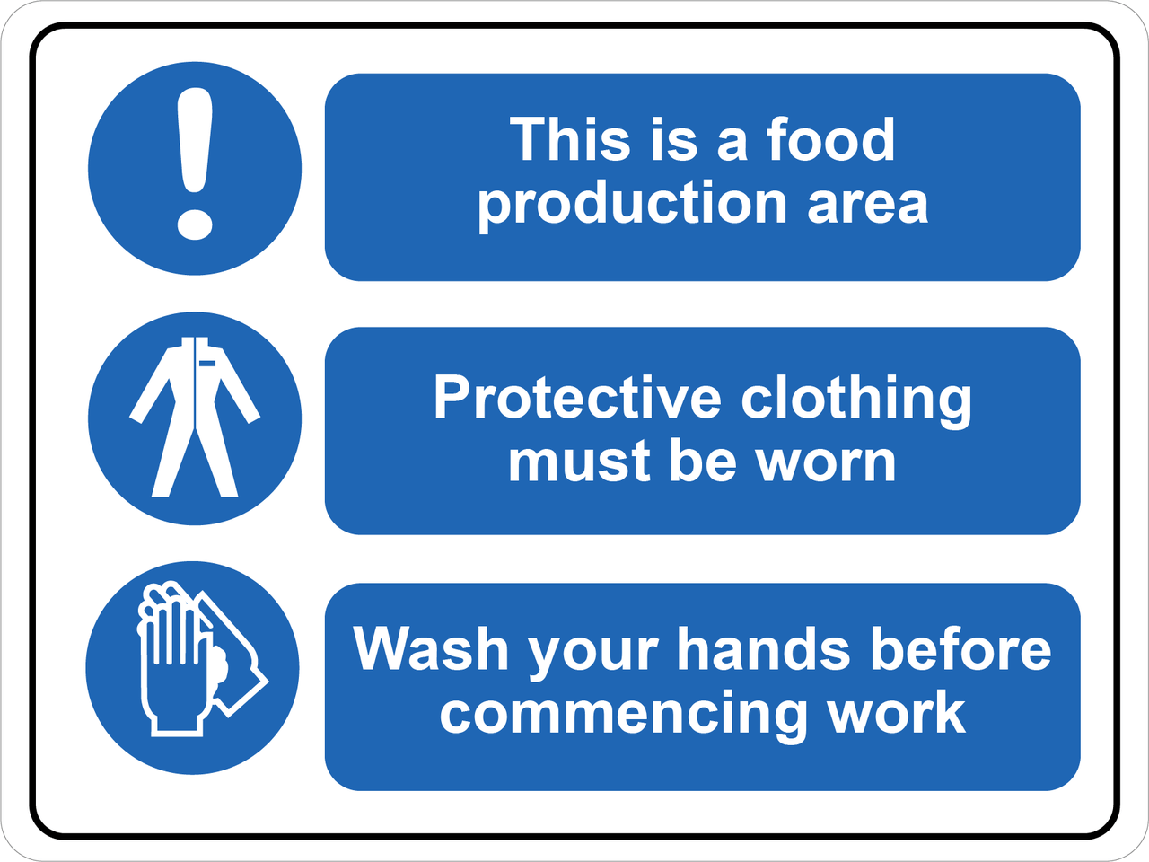 Food Processing Facility Labeling