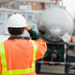 Construction worker at jobsite