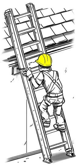 ladder safety, construction
